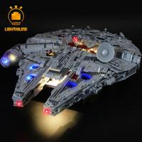 【LEDライトキット】 ミレニアム・ファルコン 75192 スターウォーズ レゴ互換 【ライトアップセット】