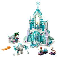 レゴ互換 アナ雪 プリンセス 氷の城 アイスキャッスル・ファンタジー エルサ アナ オラフ アナと雪の女王 お城 ブロックセット LEGO風