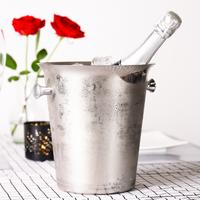 ワインクーラー 5L アイスバケット 業務用 バケツ シャンパン エレガント ステンレス 氷 シルバー ゴールド ブロンズ 4色