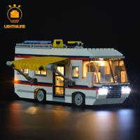 レゴ 31052 キャンピングカー 互換 [LEDライトキット+バッテリーボックス] ライトアップセット