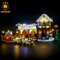 レゴ 10245 サンタのワークショップ 互換 LEDライトキット バッテリーボックス ライトアップセット