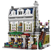 レゴ クリエイター パリのレストラン 10243 互換 ブロック 2418ピース LEGO風