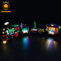 【LEDライトキット】 ウィンター ホリデイ トレイン 10254 レゴ互換 【ライトアップセット】