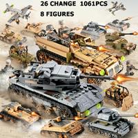 レゴ互換 戦車 戦闘機 変形可能 特殊部隊 ミニフィグ8体付き 戦争 軍人 軍隊 兵士 兵隊 ミリタリー 飛行機 車 ブロックセット LEGO風