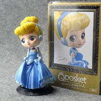 シンデレラ フィギュア ディズニープリンセス 人形 美人 おもちゃ グッズ  約12cm 完成品 PVC製