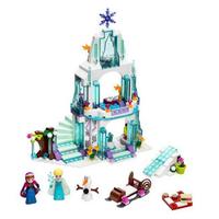 レゴ互換 プリンセス アナ雪 氷の城 エルサ アナ オラフ お城 ブロックセット アナと雪の女王 LEGO風