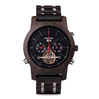 BOBO BIRD 機械式 自動巻き 木製腕時計 カレンダー機能付き ボボバード レディース メンズ 高級★
