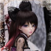 球体関節人形 セリーヌ 1/4 本体+眼球+メイクアップ済み BJD カスタムドール 美少女 女の子 選べる6色