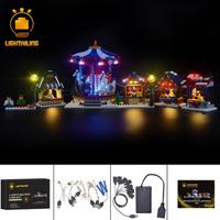 レゴ 10235 ウインタービレッジマーケット 互換 LEDライトキット バッテリーボックス ライトアップ セット