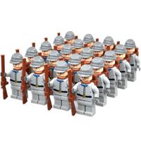 レゴ互換 南アメリカ ミニフィグ 南北戦争 20体 武器 セット 銃 戦争 軍隊 兵士 兵隊 特殊部隊 ミリタリー South America LEGO風
