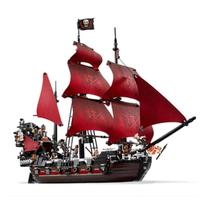 レゴ互換 アン女王の復讐号 パイレーツオブカリビアン 1151ピース ブロックセット