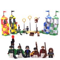 レゴ互換 ハリー・ポッター クィディッチ 対決 75956 互換品 ミニフィグ ほうき LEGO風 ブロックセット 536ピース