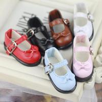 球体関節人形 革靴 ドールシューズ 1/6 選べる8色 BJD 人形用 アクセサリー レザー カスタムドール