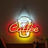 【ネオンライト】 コーヒ- 『COFFEE』 60cm ネオンサイン 喫茶店 【カフェ】