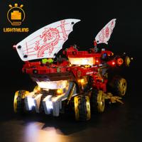 【LIGHTAILING】 LEDライトキット ニンジャゴー 陸上戦艦バウンティ号 70677  レゴ互換 【ライトアップセット】