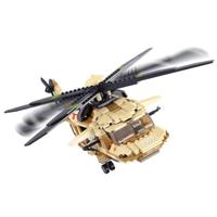 【レゴ互換】 ヘリコプター ブラックホーク 軍用 アメリカ軍 ブロックセット 【男の子】