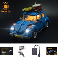 レゴ クリエイター 10252 フォルクスワーゲン ビートル 互換 LEDライトキット バッテリーボックス ライトアップセット