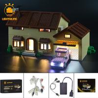 レゴ 71006 シンプソンズハウス 互換 LEDライトキット バッテリーボックス ライトアップ セット