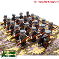レゴ互換 ドイツ軍 ミニフィグ 50体 武器 セット 特殊部隊 戦争 第二次世界大戦 WW2 German army 銃 軍隊 兵士 兵隊 LEGO風