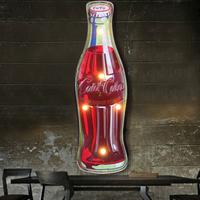 【ネオンサイン】 コカコーラ ボトル 壁掛け 居酒屋 ネオンライト 【レストラン】