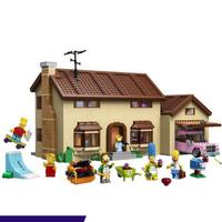 レゴ 71006 シンプソンズハウス 互換品 2575ピース LEGO風