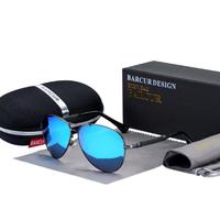 【ユニセックス】 BARCUR 高級 偏光サングラス UV400 ポラロイド ドライブ 運転 アウトドア 旅行 釣り 海外トップブランド 【選べる3色】