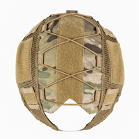 OneTigris ヘルメットカバー ファストヘルメット PJ 迷彩 防水 メッシュ ハーフ サバゲー 装備 500Dコーデュラナイロン マルチカム 選べる2色
