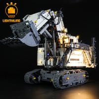【LIGHTAILING】 LEDライトセット 42100 リープヘル R9800 ショベル レゴ互換 【ライトアップキット】