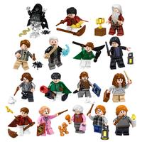 レゴ互換 ハリーポッター ミニフィグ 16体 人気 キャラクター ほうき 杖 蜘蛛 魔法 ブロックセット LEGO風