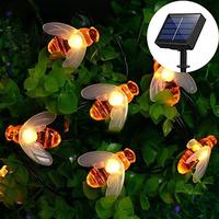 ソーラーライト 屋外 防水 IP65 みつばち 夜間自動点灯 明るい 庭 ガーデン ベランダ LEDライト ハロウィン クリスマス おすすめ 人気 30個セット