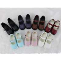 BJD 革靴 ドールシューズ レザー 選べる6色 1/6 1/4 1/3 球体関節人形 カスタムドール アクセサリー 人形用 靴