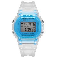 【子供用】 SMAEL キッズ 50m防水 ミリタリー腕時計 おしゃれ 多機能 男の子 女の子 スポーツウォッチ クロノグラフ LED 日付表示 1905 Digital 【可愛い】
