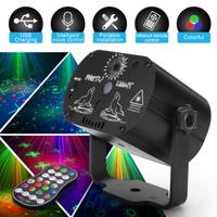 【ステージライト】 レーザービーム リモコン付き USB充電式 ディスコライト 【業務用にも】