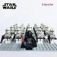 レゴ互換 スターウォーズ ミニフィグ 大量21体セット トルーパー 武器 Star Wars フィギュア 人形 グッズ おもちゃ LEGO風 選べる3種類