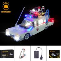 レゴ LEDライトキット+バッテリーボックス 21108 ゴーストバスターズ ECTO-1 互換 LEGO ライトアップセット