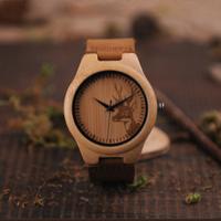 BOBO BIRD バンブーウォッチ トップブランド 海外 超軽量で疲れない メンズ 竹製腕時計 ミヨタ2035クォーツ
