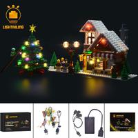 レゴ 10249 冬のおもちゃ屋さん ウィンタートイショップ 互換 [LED ライトキット+バッテリーボックス] LEGO ライトアップセット