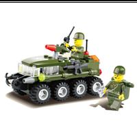 レゴ互換 戦車 兵士 ミリタリー ヘルメット 武器 ミニフィグセット