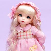 球体関節人形 美少女 目元パッチリ 1/6 本体+眼球+メイクアップ済み BJD カスタムドール 女の子 かわいい 美少女 ふっくらとした頬 選べる6色