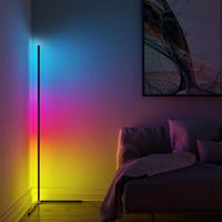 【カラフル】 フロアライト リモコン 調光 調色可能 LED 【スタンドライト】
