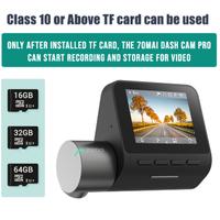 70mai ドライブレコーダー 140°広角 16GB TF Card 1944p GPS 駐車監視 24時間 高性能 あおり運転 WDR 音声 ボイスコントロール ダッシュカム 英語 ロシア語