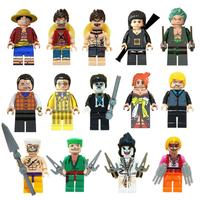 レゴ互換 ワンピース ミニフィグ 14体セット ルフィ ゾロ ナミ サンジ エース 白ひげ クロコダイル 黄猿 ONE PIECE フィギュア LEGO風 豪華ブロックセット★
