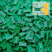 レゴ互換 パーツ お金 紙幣 お札 50個セット アクセサリー LEGO風 ブロックセット 知育玩具 緑