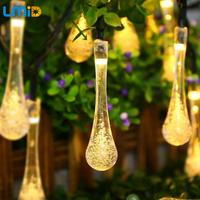 LMID ソーラーランプ 防水 IP65 ソーラーライト イルミネーションライト 明るい 庭 ガーデン ベランダ LED  ハロウィン パーティー クリスマスにも 青 白 暖白 カラフル 選べる4色