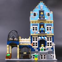 レゴ互換 マーケットストリート 10190 ファクトリー 互換品 1275ピース LEGO風 ブロック 海外製品