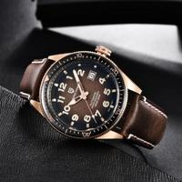 PAGANI DESIGN メンズ腕時計 10気圧防水 機械式 自動巻き 日付表示 発光 本革ベルト パガーニデザイン コスパ抜群 高級 選べる4色