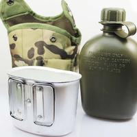 サバゲー 水筒弁当箱セット サバイバルゲーム エアガン フィールドゲーム アウトドア 6色 本格的★