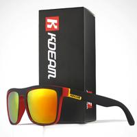 【KD156】 KDEAM メンズ 偏光サングラス 鮮やかでキレイ ポラロイド UV400 スポーツ アウトドア 海外トップブランド 高級 人気 【選べる3色】