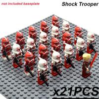 レゴ互換 スターウォーズ ショックトルーパー ミニフィグ 21体 大量 STAR WARS フィギュア 人形 武器 大人気 海外 映画グッズ おもちゃ LEGO風