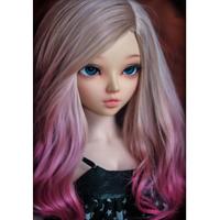 球体関節人形 美女 BJD 1/4 本体+眼球+メイクアップ済み カスタムドール 女の子 美少女 かわいい 手作り 選べる7色